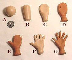Fondant Hands