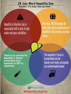 Today on the occasion of the World Hepatitis Day, we are publishing/releasing this Info-graphic emphasizing few import facts about Hepatitis and it's relation with consumption of the contaminated water. Therefore generating awareness about importance of microbial contamination free water by microbial analysis of water.