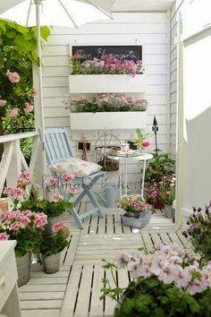 Balcon florido