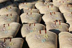 L'atelier Des Petites Bauloises: Panier de plage personnalisé