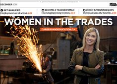 Special supplement on Women in the Trades - lots of good articles.
