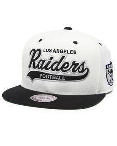 Oakland Raiders Nfl Throwbacks Script Tailsweeper Snapback Hat. Get it at DrJays.com