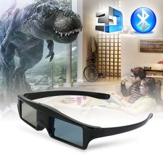 USB Rechargeable Active Shuttle Bluetooth Glasses For Epson Projector Samsung Sony Panasonic TCL Sharp TV Latest Laptop, Gadget Store, 3d Tvs, 3d Glasses, Laptop Accessories, Epson, Consumer Electronics, Bluetooth, Usb