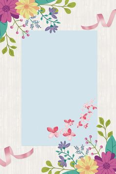 Flower Background Wallpaper, Collage Background, Flower Backgrounds, Wallpaper Backgrounds, Colorful Wallpaper, Hand Drawn Flowers, Painted Flowers, Sharpie Drawings, Photo Frame Design