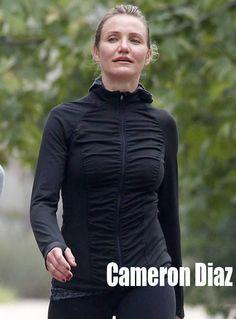 66b0f27f1c Snoop Reveals His Views On Gay Marriage A makeup-free Cameron Diaz sported  black spandex pants as sh