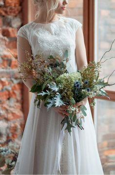 Tessa Light vintage wedding dress