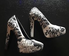 Metal Mulisha Maidens Women's Platform High Heels Black/White Size 7 #METALMULISHA #PumpsClassics