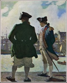 "N.C. Wyeth ~ ""John Paul Jones"""