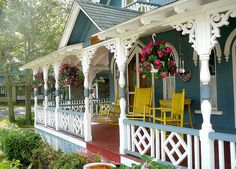 Victorian Gingerbread House-Oak Bluffs, Martha's Vineyard.  Saw this and took lots of pictures of the gingerbread cottages.
