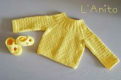 Conjunto tejido con algodón 100%. L'Anita