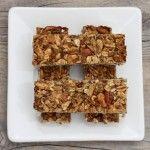 Homemade granola bars.