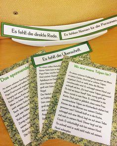 Karma, Teaching Writing, Teaching Ideas, Education, School, Material, Kindergarten, Instructional Planning, German Language