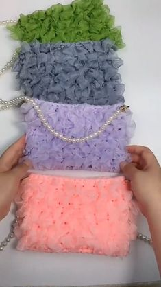 Crochet Bag Tutorials, Crochet Diy, Crochet Videos, Crochet Crafts, Crochet Projects, Crochet Handbags, Crochet Purses, Crochet Basket Pattern, Crochet Patterns