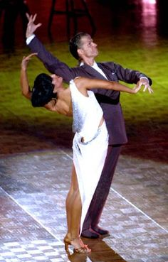 tbt to Louis van Amstel and Karina Smirnoff
