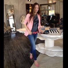 Kelly Wearstler (kellywearstler)   Fashion & Beauty Photos on Pose Pink jacket