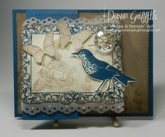 Stampin up New in 2012 Papaya Collage 126612 28.95 set of 7 Postage Due has butterfly, bird,frame,leaves,rose,party hat, smaller frame. very nice set from stampin up. love it.