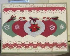 Image result for stampin up ornament punch