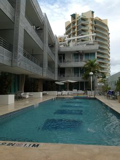 Z Ocean Hotel: This hotel is an architectural gem that opens out onto both Ocean Drive and Collins Avenue, striking a new balance of service and style.  #Miami #Hotels