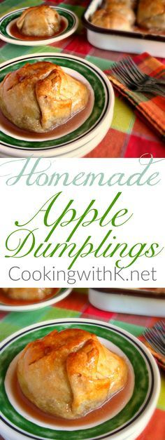 These warm apple dumplings make an appearance at all our family gatherings.  The…
