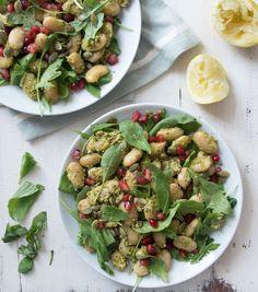 Pesto Butter Bean Salad