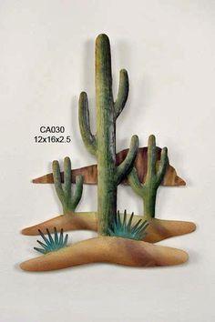 Saguaro Canyon Desert Wall Art  CA030