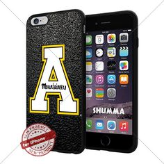"""NCAA Appalachian State Mountaineers Cool iPhone 6 Plus (6+ , 5.5"""") Smartphone Case Cover Collector iphone TPU Rubber Case Black SHUMMA http://www.amazon.com/dp/B013YOMNYE/ref=cm_sw_r_pi_dp_fxNhwb0VTG8MX"""