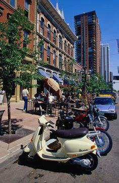 #ridecolorfully at Larimer Square, Denver, CO