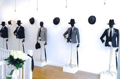 """Joshua Kane Bespoke"" Old Spitalfields Market, London, UK, instore,pinned by Ton van der Veer"
