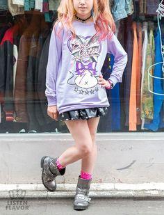 Evil Cutie Crew Sweat / See more at http://www.cdjapan.co.jp/apparel/new_arrival.html?brand=LIS #harajuku
