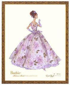 Violette Limited Edition Barbie Print