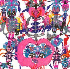 Monika Forsberg – Felt-Tip Fantasy Lands via Patternbank - Print, Pattern + Graphics Inspiration