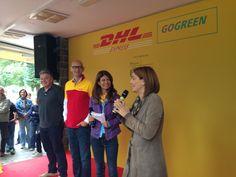 Il discorso ufficiale di John Pearson (CEO DHL International), Alberto Nobis (AD DHL Express Italy) e l'assessora Chiara Bisconti. #yellowparade #gogreen http://www.dhllive.com/content/il-sogno-green-di-dhl