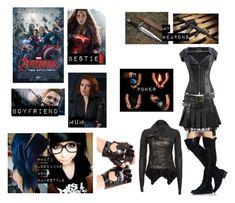 Me in The Avengers : Age of Ultron Trendy Outfits For Teens, Edgy Outfits, Cosplay Outfits, Cute Outfits, Fashion Outfits, Disney Themed Outfits, Character Inspired Outfits, Avengers Outfits, Avengers 2