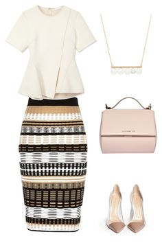 Modern Chic by www.dearmissj.com featuring Alexander Wang, River Island, Gianvito Rossi, Givenchy and modern #pearl #necklace
