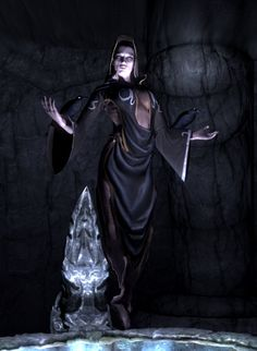 "Nocturnal [The Elder Scrolls] is the Daedric Prince whose sphere is the night and darkness. She is also known as the Night Mistress and ""Lady Luck"". The Cyrodilic Thieves Guild leader, the Gray Fox, has the Gray Cowl of Nocturnal, which truly represents the sphere's darkness quality; it permanently removes the wearer's specific identity from all history. Regardless, the Cyrodiil Thieves Guild venerates Nocturnal by ending talks with the saying ""Shadow hide you."""