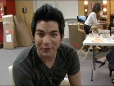 "Adam Lambert during American Idol Behind The Scenes Top 7: ""How would you like"