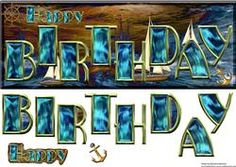 View Happy Birthday on the Ocean's Waves Details