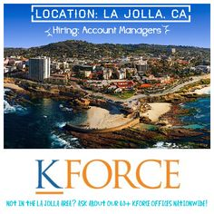 Life's too short to be unhappy at work! Contact me today for more information about #kforce.