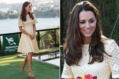 Catherine, Duchess of Cambridge tour Australia/New Zealand Day-13 Sydney's Taronga Zoo on April 20, 2014 in Sydney, Australia. Kate wore another broderie anglaise dress for her visit to the zoo