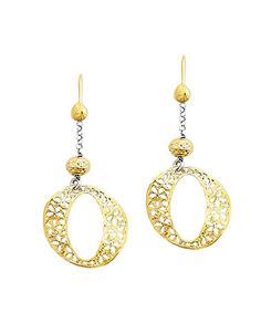 Take a look at this Yellow Gold & Sterling Silver Earrings by Greg Anthony on #zulily today!