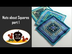 All videos that make up Nuts About Squares CAL. There are 11 designers contributing to this CAL.