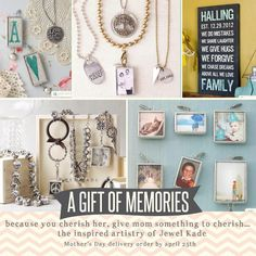 Looking for a Mother's Day gift that will bring her joy all year long? I can help...check these out! :) https://denisearmstrong.jewelkade.com/browseJKcatalog