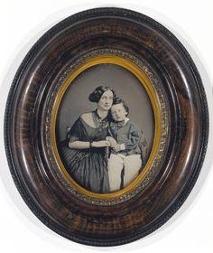 Mother and Son, ca. 1855, Daguerreotype, Smithsonian American Art Museum