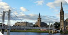 """INVERNESS, SCOTLAND MEANING """"MOUTH OF THE RIVER NESS.  IT IS A CITY IN THE SCOTTISH HIGHLANDS.  IT IS REGARDED AS THA CAPITAL OF THE HIGHLANDS OF SCOTLAND."""