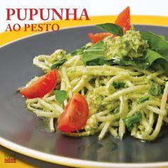 Receita de espaguete de pupunha ao pesto – Blog HortiSabor – Vida Saudável | Receita e Saúde