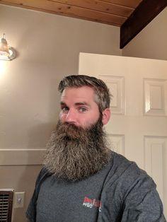 Big Moustache, Beard And Mustache Styles, Beard No Mustache, Hot Beards, Grey Beards, Epic Beard, Full Beard, Bearded Tattooed Men, Moustache