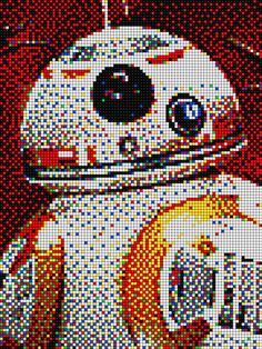 BB8 - Star Wars with Pixel Art Quercetti