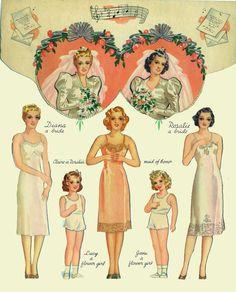 1939 Double Wedding Merrill #3472 - FRONT INSIDE 2/10    Bobe Green - Picasa Webalbum [pin imag biggest]