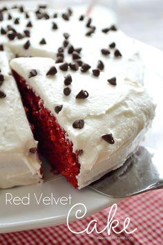 Best-ever Red Velvet Cake
