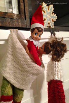 elf on the shelf ideas4 200 Easy Elf on the Shelf Ideas